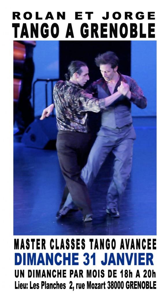 Compagnie modos vivendi master classes tango avancee - Dimanche a grenoble ...